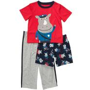 Carter's Infant and Toddler Boy's 3 Pc. Rhino Print Set at Sears.com
