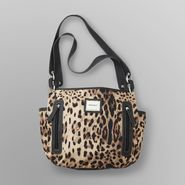 Jaclyn Smith Women's Middleton Tote Bag - Leopard Print at Kmart.com