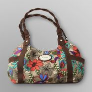 Jaclyn Smith Women's Sweet Valley Four-Poster Handbag - Floral at Kmart.com