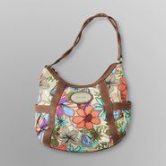 Jaclyn Smith Women's Sweet Valley Hobo Bag - Floral at Kmart.com