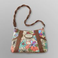 Jaclyn Smith Women's Sweet Valley Top Zip Handbag - Floral at Kmart.com