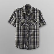 NSS Young Men's Camp Shirt - Plaid at Kmart.com