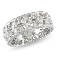 Amour Sterling Silver 1/3 CT Diamond  Fashion Ring (GH I3) at Sears.com