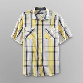 Legend One Men's Big & Tall Camp Shirt - Plaid at Kmart.com