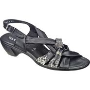 Ara Women's Pinkie 35165 - Black/Dark Grey Snake Leather at Sears.com