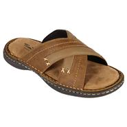 Thom McAn Men's Slide Sandal Macario - Brown at Kmart.com