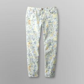 Route 66 Women's Classic-Fit Skinny Jeans - Floral at Kmart.com