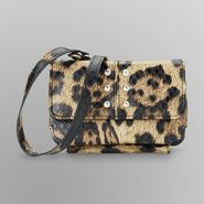 Attention Women's Out & About Wristlet Purse - Leopard Print at Kmart.com