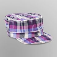 Joe Boxer Girl's Reversible Cadet Hat - Plaid at Kmart.com