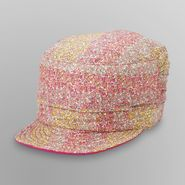 Joe Boxer Girl's Reversible Cadet Hat - Floral Print at Kmart.com