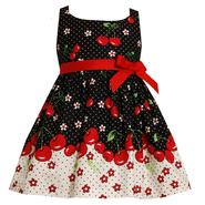 Ashley Ann Infant & Toddler Girl's Sleeveless Cherries Dress at Sears.com