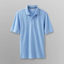 Basic Editions Men's Pique Polo Shirt at Kmart.com