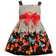Ashley Ann Infant & Toddler Girl's Sleeveless Polka Dot Butterfly Dress at Sears.com