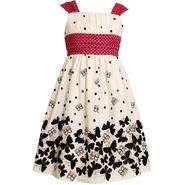 Ashley Ann Girl's Sleeveless Banded Waist Butterfly Dress at Sears.com