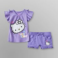 Hello Kitty Toddler Girl's Top & Shorts - Striped at Sears.com