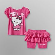Hello Kitty Toddler Girl's Top & Scooter Skirt - Polka Dots at Sears.com