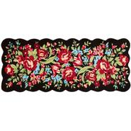 "22""x54"" Black Floral Runner at Kmart.com"