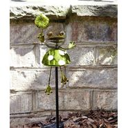 Garden Oasis Solar Garden Stake - Frog with Leaf at Sears.com