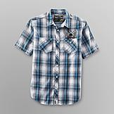 NSS Young Men's Camp Shirt - Plaid at mygofer.com