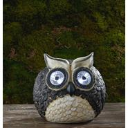 Garden Oasis Owl with Solar Spotlight Eyes at Kmart.com