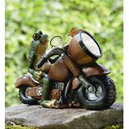 Frog on Motorcycle with Solar Light at Kmart.com