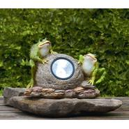 Frogs on Stone with Solar Light at Sears.com