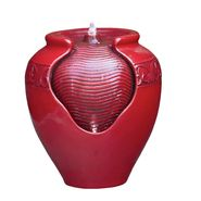 Garden Oasis Red Glazed Pot Fountain at Sears.com
