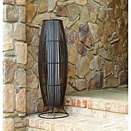 Garden Oasis Large Bamboo Floor Lantern at Sears.com