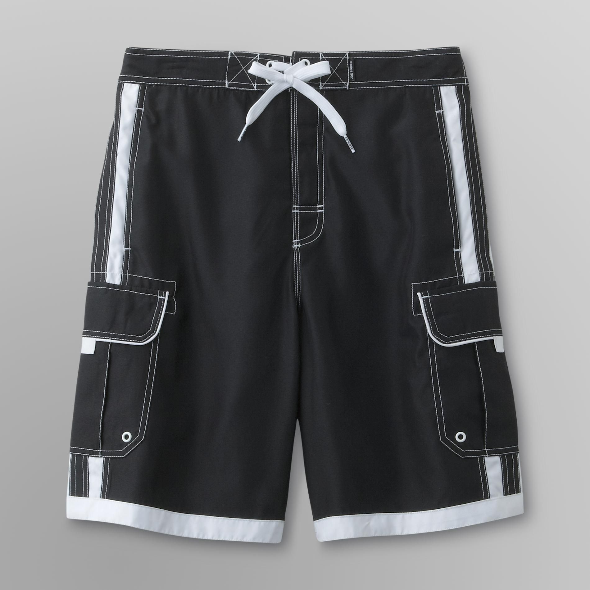 Joe Boxer Men's Colorblock Swim Trunks