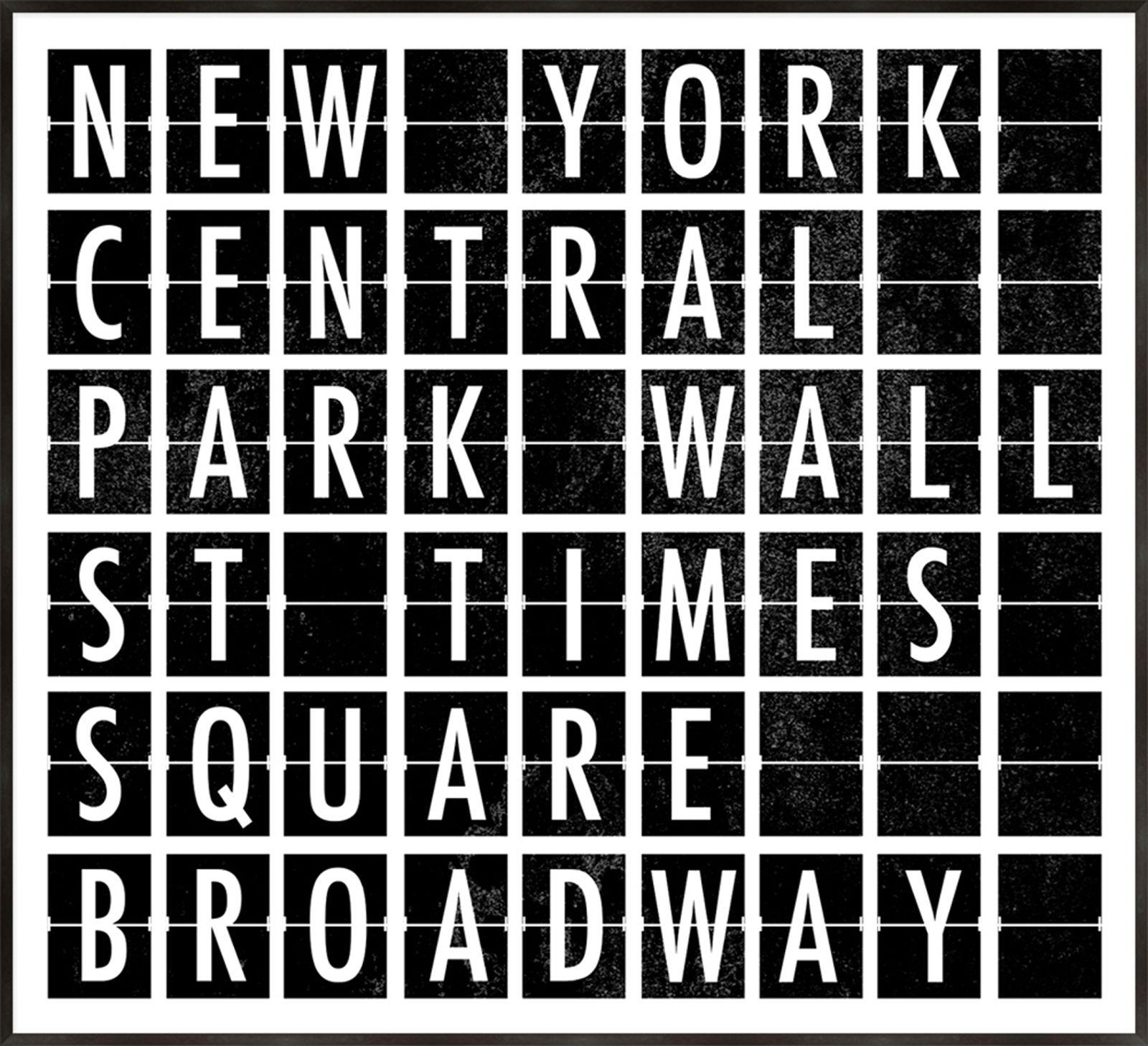 Destination Signs New York A