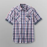 Legend One Men's Big & Tall Plaid Sport Shirt at mygofer.com