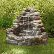 Large Lighted Rock Fountain at Sears.com