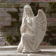 21 in. Kneeling Angel Statue at Sears.com