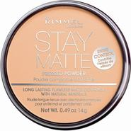Rimmel Stay Matte Pressed Powder Nude Beige 0.49 oz at Kmart.com