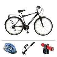 Schwinn Cruisin with Comfort Bike Bundle             ...