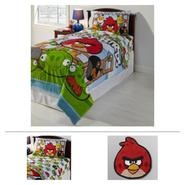 Angry Bird Rug, Comforter & Sheet Set Bundle at Sears.com