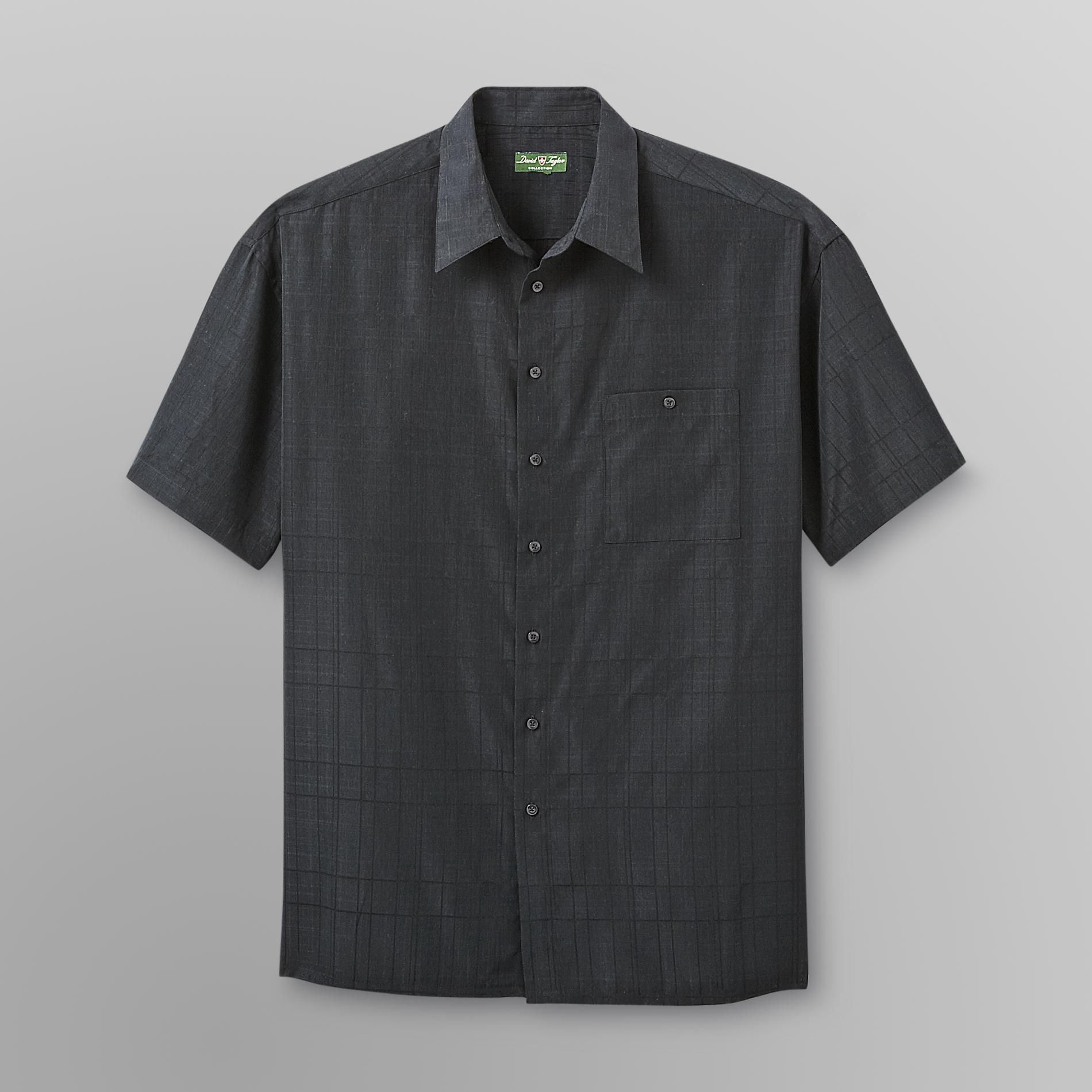 David Taylor Men's Big & Tall Shirt - Windowpane Plaid at Kmart.com