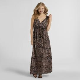 Attention Women's Maxi Dress - Medallion at Kmart.com