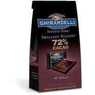 Ghirardelli Intense Dark Chocolate, Twilight Delight, 72% Cacao, 4.87 oz (138 g) at Kmart.com