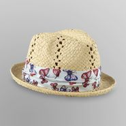 Dream Out Loud by Selena Gomez Junior's Straw Fedora - Butterflies at Kmart.com
