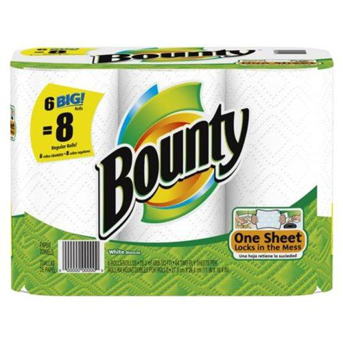 Big Rolls White Paper Towels                                                                                                     at mygofer.com