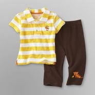 Little Wonders Infant Boy's Polo Shirt & Pants - Tiger at Kmart.com