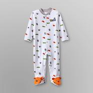 Little Wonders Infant Boy's Footed Pajamas - Jungle Animals at Kmart.com
