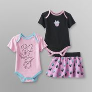 Disney Minnie Mouse Infant Girl's Bodysuits & Skirt at Sears.com