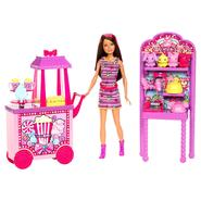 Barbie Sisters Amusement Park Doll + Popcorn & Souvenirs Accessory at Sears.com