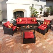 RST Outdoor Cantina™ 8-Piece Sofa, Club Chair and Ottomans Set at Kmart.com