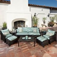 RST Outdoor Bliss™ 8-Piece Sofa, Club Chair and Ottomans Set at Sears.com