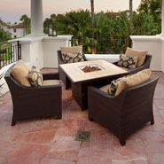 RST Outdoor Delano™ 5-Piece Fire Table Seating Set at Kmart.com
