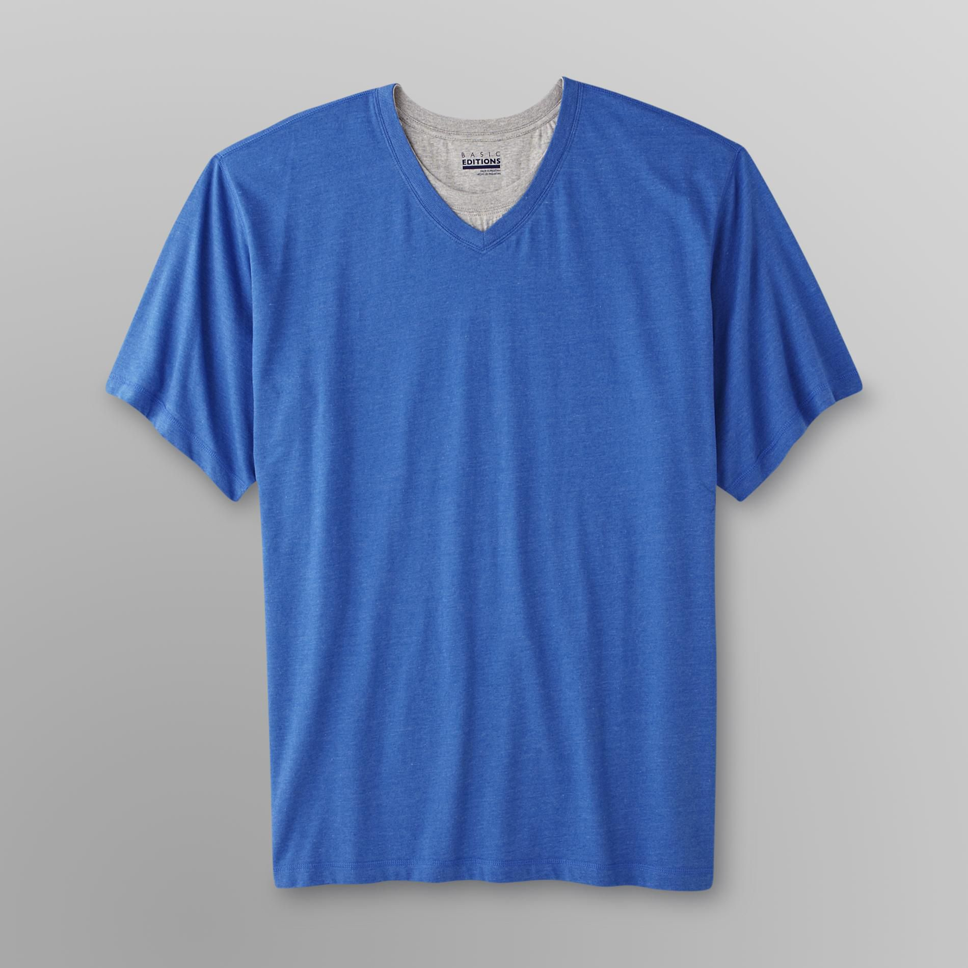 Basic Editions Men's Layered V-Neck T-Shirt at Kmart.com