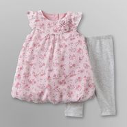 Little Wonders Infant Girl's Dress & Leggings - Floral at Kmart.com